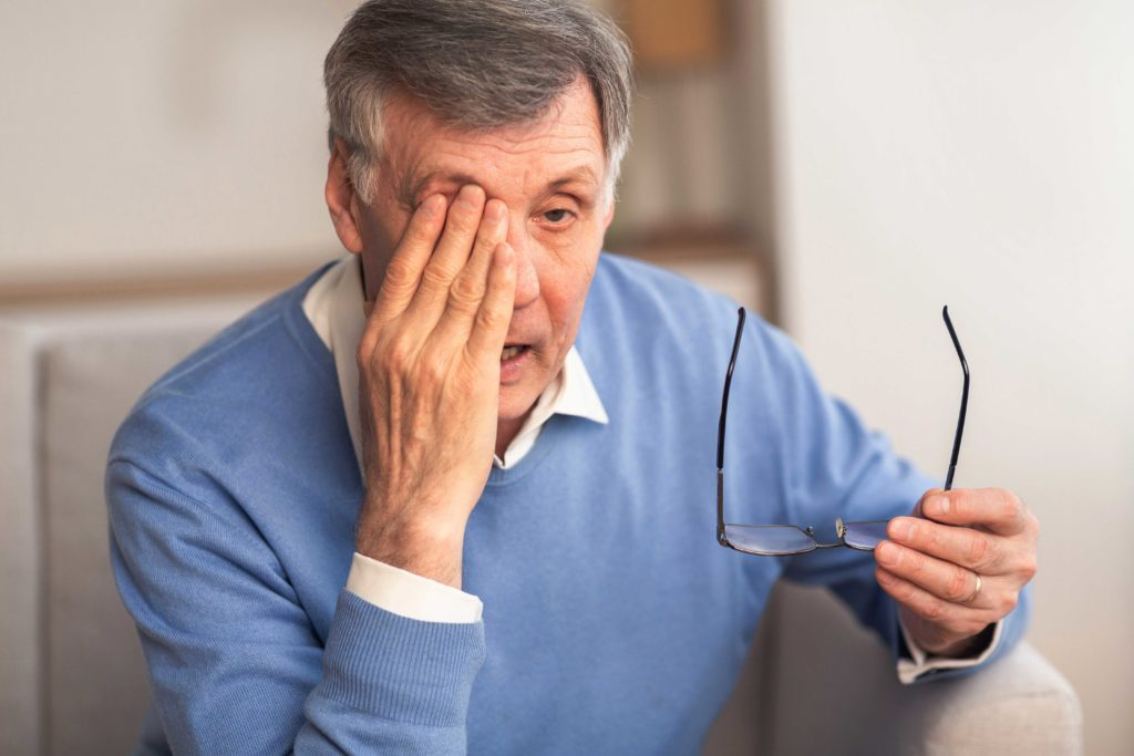 Top most common causes for Vision loss in seniors