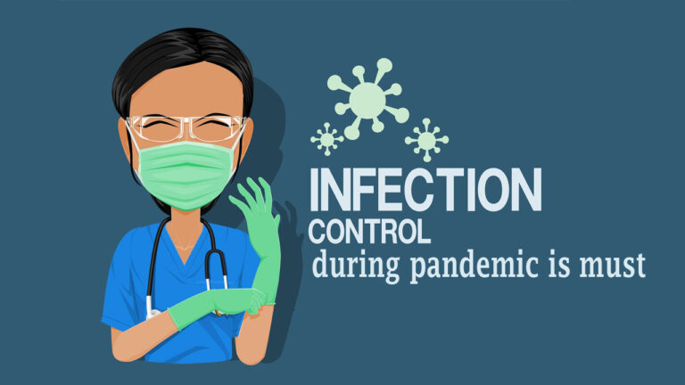 Infection control during pandemic