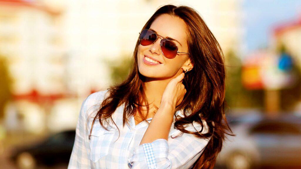 sunglasses outside